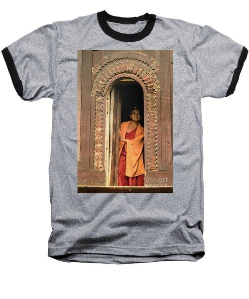 A Monk 4 Baseball T-Shirt