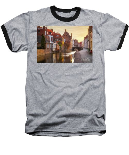 A Morning In Brugge Baseball T-Shirt by JR Photography