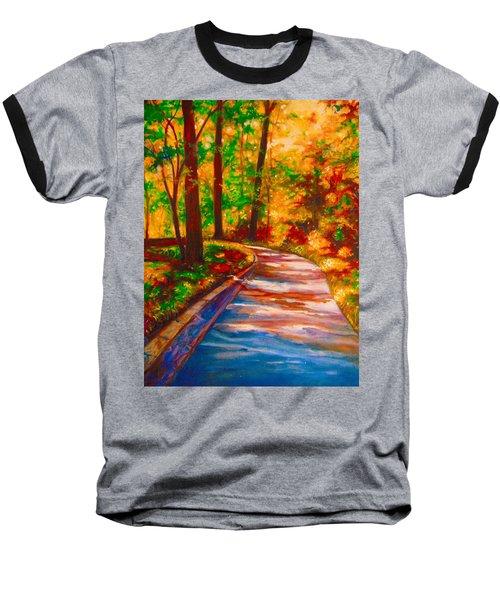 A Morning Walk Baseball T-Shirt