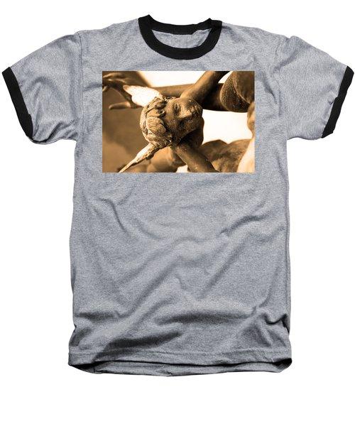 A Mother's Angel Baseball T-Shirt