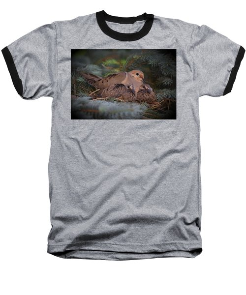 Baseball T-Shirt featuring the photograph A Mother's Love by Gary Smith