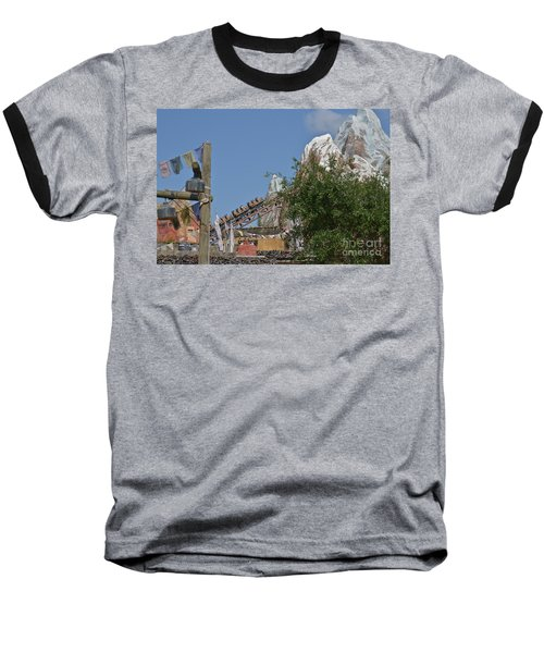 Baseball T-Shirt featuring the photograph A Mountain Of Fun by Carol  Bradley