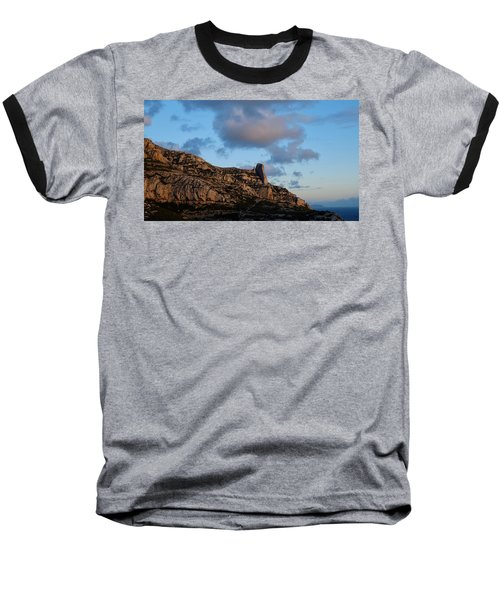 A Mountain With A View Baseball T-Shirt