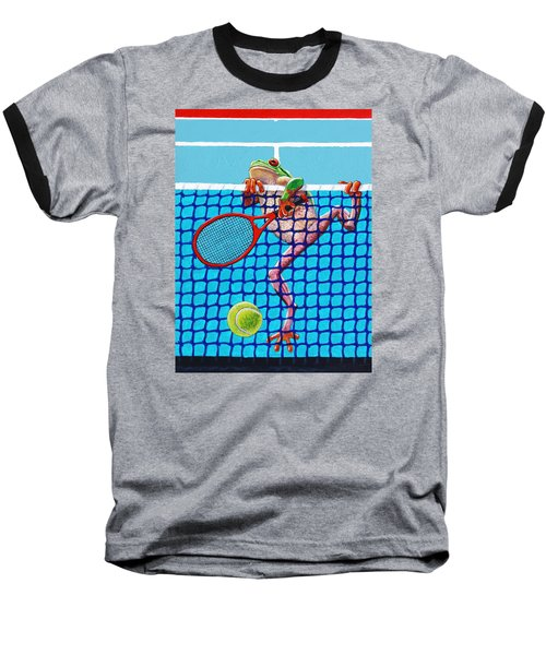 A Net Violation Baseball T-Shirt