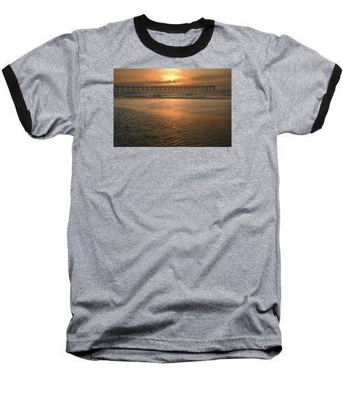 A New Day Dawning Baseball T-Shirt by Renee Hardison