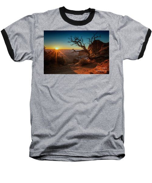 Baseball T-Shirt featuring the photograph A New Day Dawns by Kristal Kraft