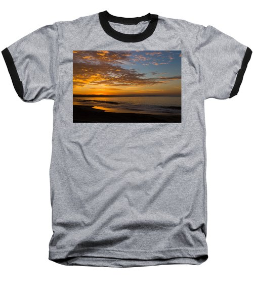 Baseball T-Shirt featuring the photograph A New Day by Lora Lee Chapman