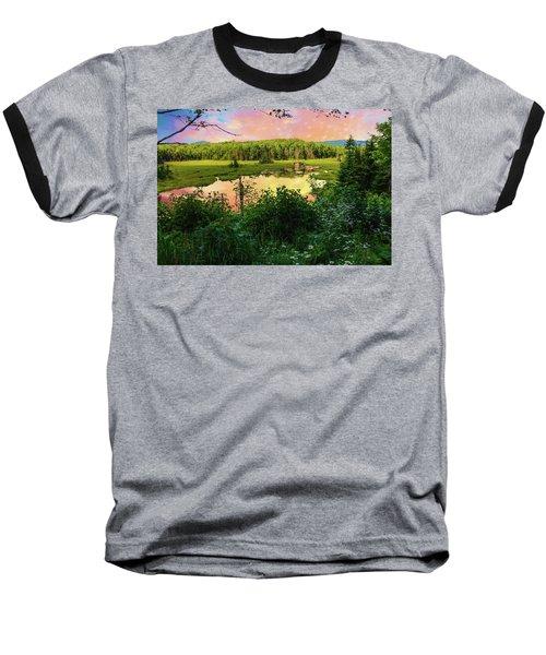 A New England Bog. Baseball T-Shirt