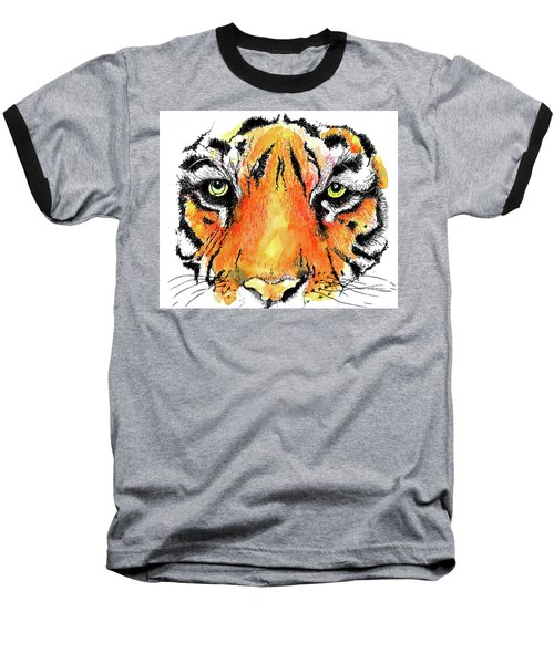 A Nice Tiger Baseball T-Shirt