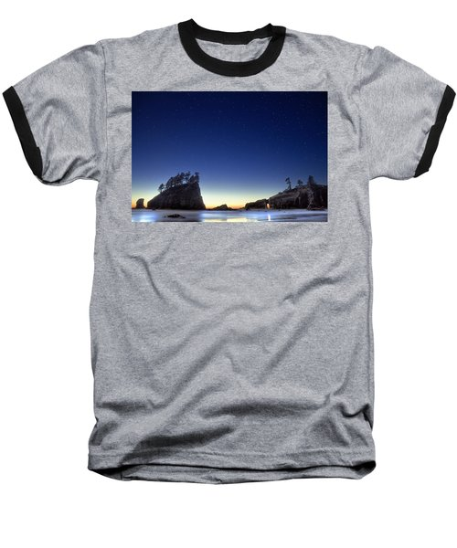 Baseball T-Shirt featuring the photograph A Night For Stargazing by William Lee