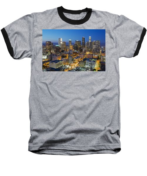 A Night In L A Baseball T-Shirt by Kelley King