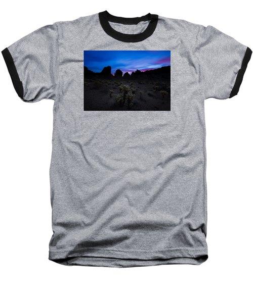 A Nights Dream  Baseball T-Shirt by Tassanee Angiolillo