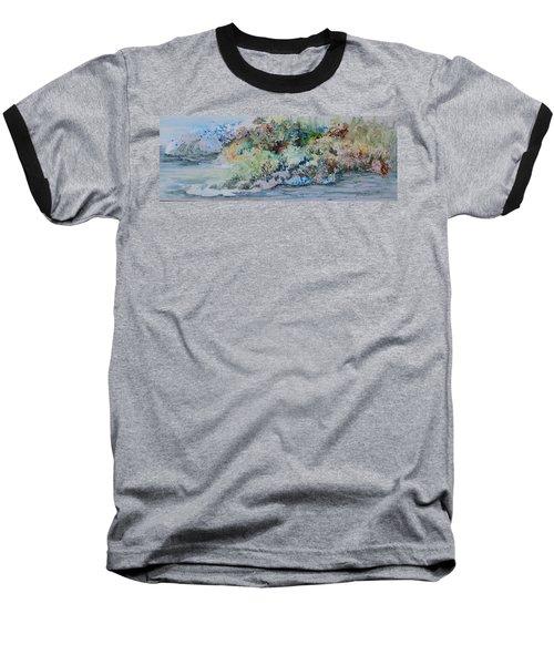A Northern Shoreline Baseball T-Shirt by Joanne Smoley