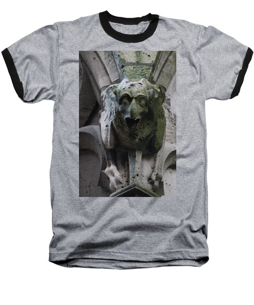 Baseball T-Shirt featuring the photograph A Notre Dame Griffon by Christopher Kirby