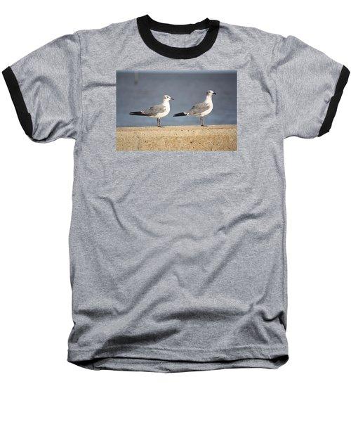 A Pair Of Gulls Baseball T-Shirt