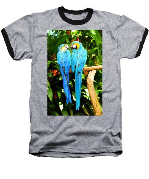 A Pair Of Parrots Baseball T-Shirt