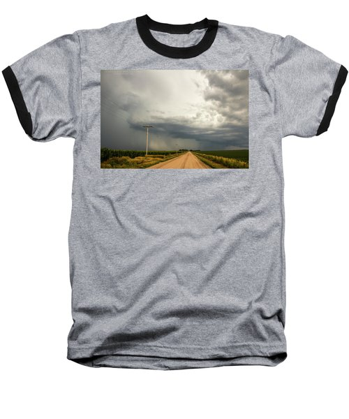 A Passion For Shelf Clouds 001 Baseball T-Shirt
