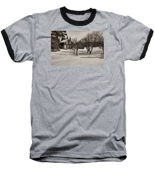 A Path To Home Baseball T-Shirt by Janice Adomeit
