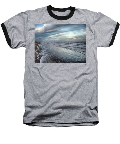 A Peaceful Beach Baseball T-Shirt