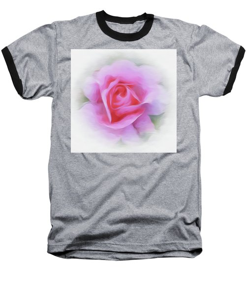 A Perfect Pink Rose Baseball T-Shirt