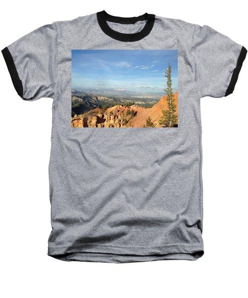 A Perfect Spot At Bryce Canyon Baseball T-Shirt