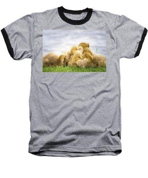 A Pile Of Goslings Baseball T-Shirt