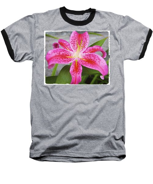 A Pink So Vivid I Can Almost Taste It Baseball T-Shirt