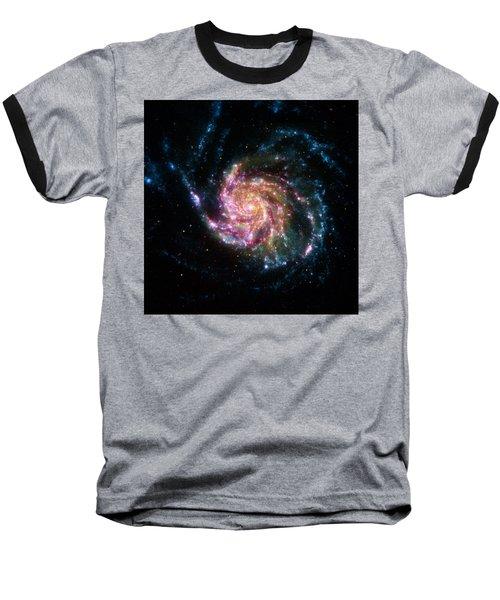 A Pinwheel In Many Colors Baseball T-Shirt