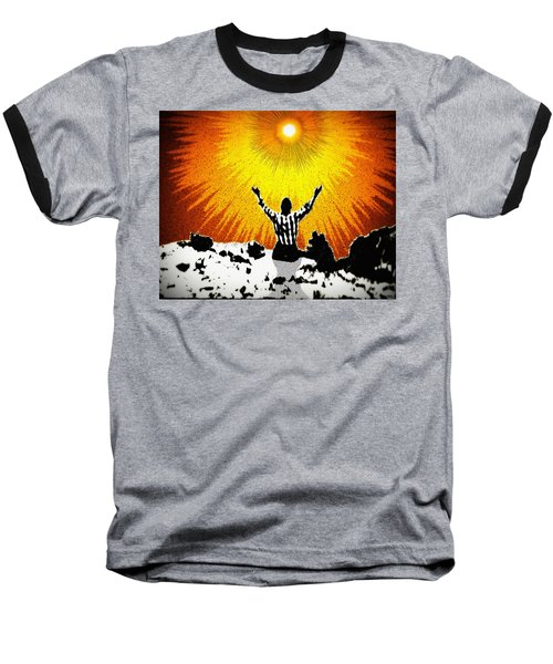 Baseball T-Shirt featuring the photograph A Place To Abandon Yourself by Glenn McCarthy Art and Photography