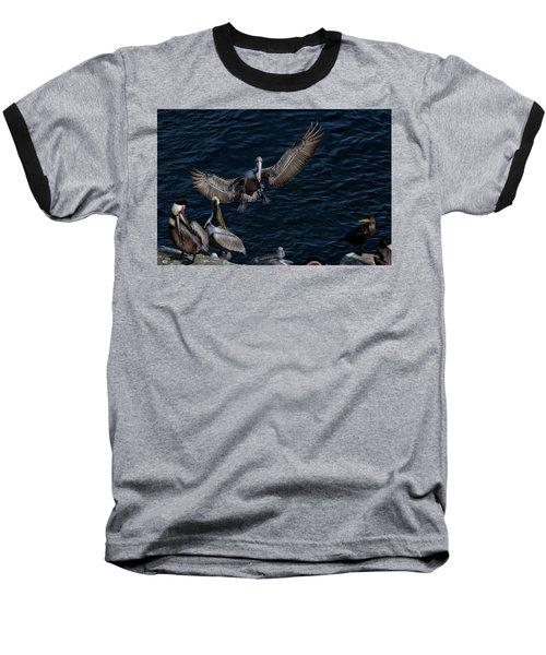 A Place To Land Baseball T-Shirt