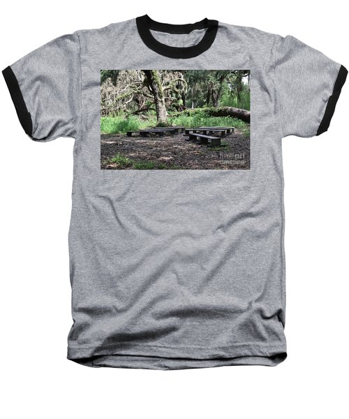 Baseball T-Shirt featuring the photograph A Place To Rest by Carol  Bradley