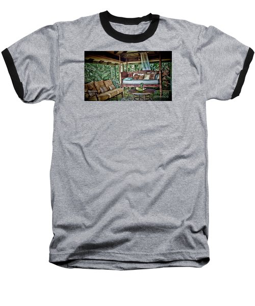 Baseball T-Shirt featuring the photograph A Place To Retreat by Pamela Blizzard