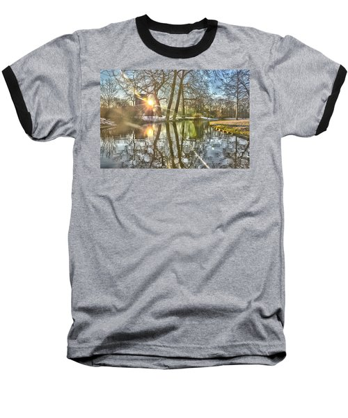 A Pond In Rotterdam Baseball T-Shirt