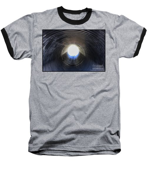 A Portal Of Light Baseball T-Shirt by Roberta Byram