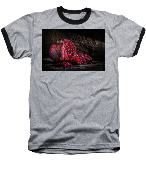 A Potential Jam Baseball T-Shirt by Jeffrey Jensen