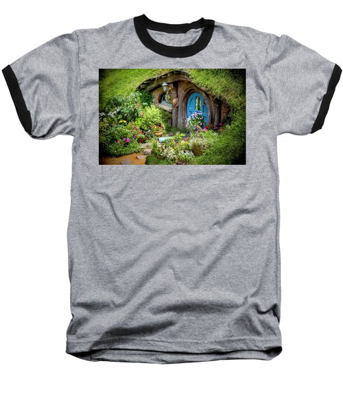 A Pretty Hobbit Hole Baseball T-Shirt