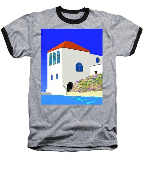 A Private Beach Baseball T-Shirt