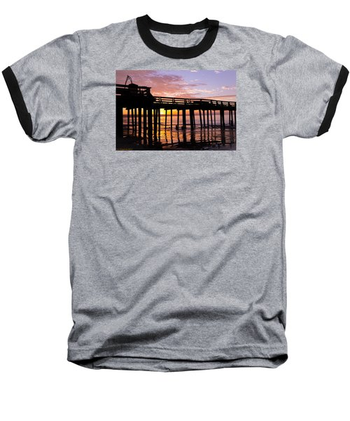 A Quiet And Beautiful Start Baseball T-Shirt by Lora Lee Chapman