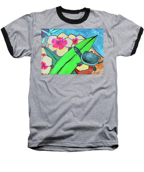 A Quiet Conversation Baseball T-Shirt