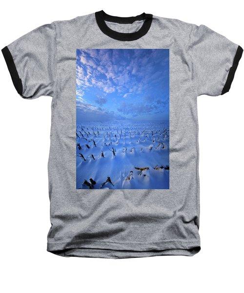 Baseball T-Shirt featuring the photograph A Quiet Light Purely Seen by Phil Koch