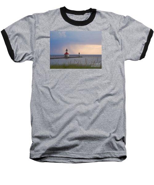 A Quiet Wonder Baseball T-Shirt by Ann Horn