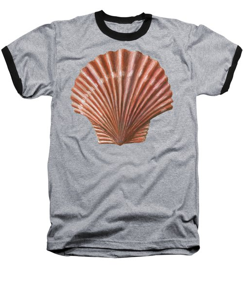 A Quincunx Of Scallop Shells Baseball T-Shirt