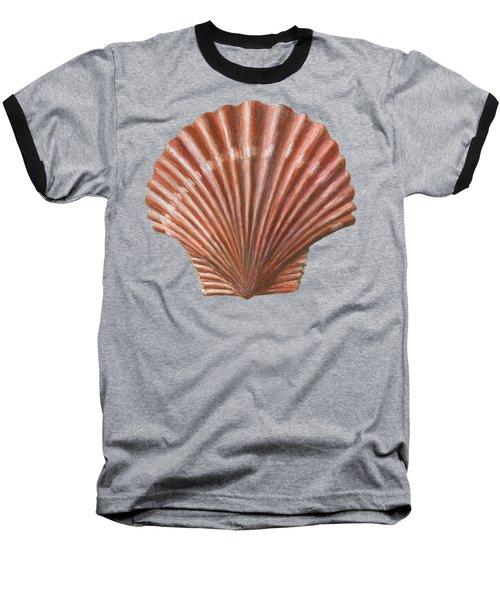 A Quincunx Of Scallop Shells Baseball T-Shirt