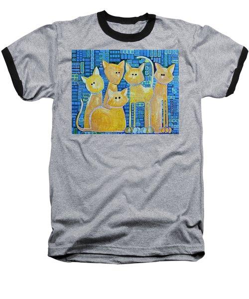 A Quorum Of Cats Baseball T-Shirt