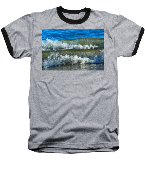A Race For Non-existence, Point Reyes National Seashore, Marin C Baseball T-Shirt by Wernher Krutein