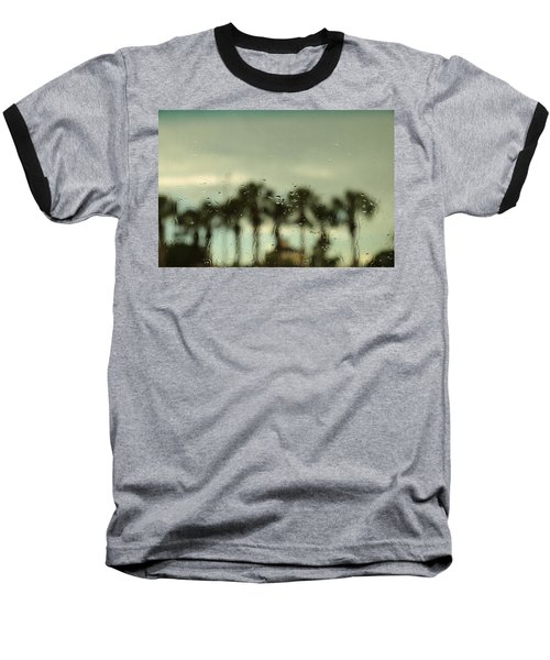 A Rainy Day Baseball T-Shirt by Christopher L Thomley