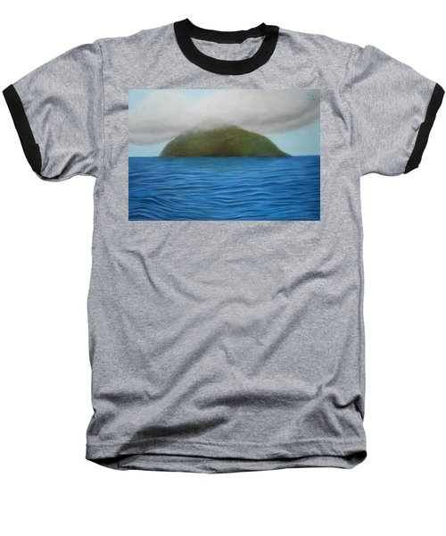 Hope- The Island  Baseball T-Shirt by Vishvesh Tadsare
