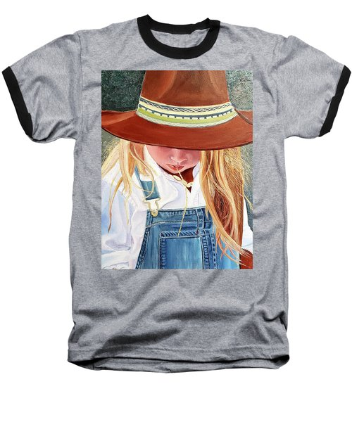 A Real Cowgirl Baseball T-Shirt