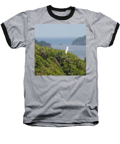 A Red-billed Tropicbird (phaethon Baseball T-Shirt