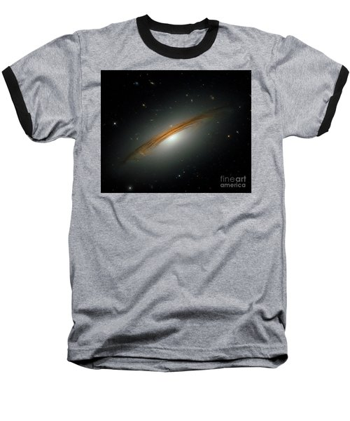 Baseball T-Shirt featuring the photograph Fastest Spinning Galaxy by Nicholas Burningham